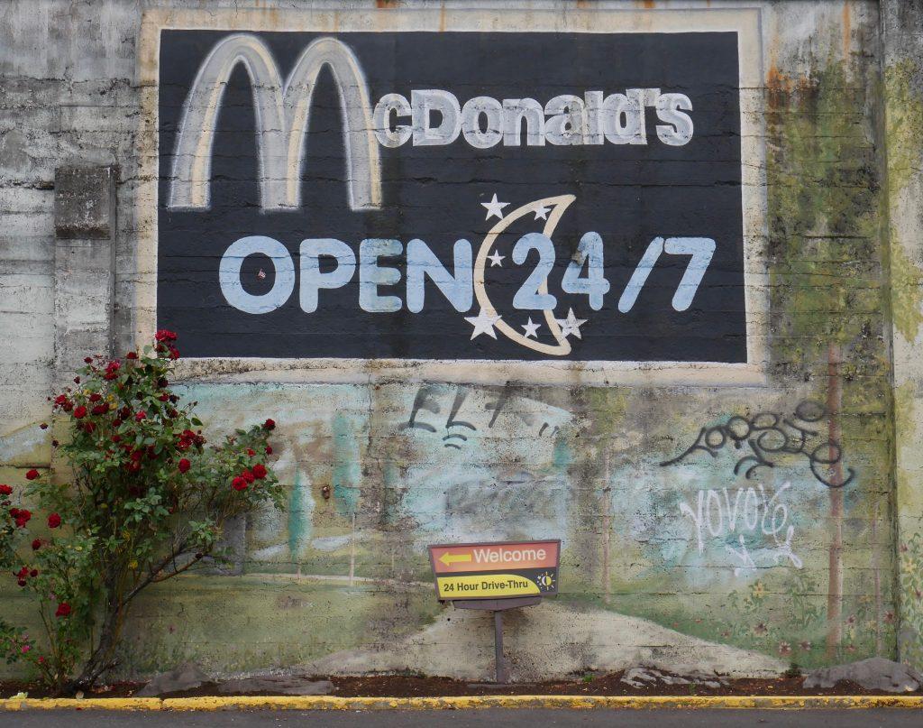 Mcdonalds Mural